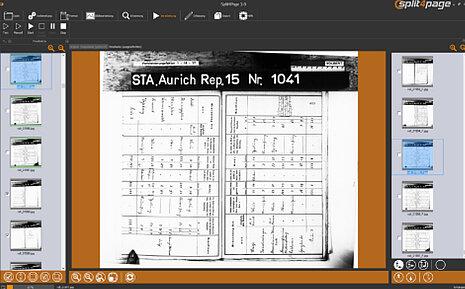 Bild 2 von 2- Schief gescannte Vorlagen werden automatisch gerade gerückt