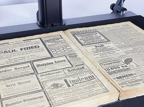 Zeitungen digitalisieren