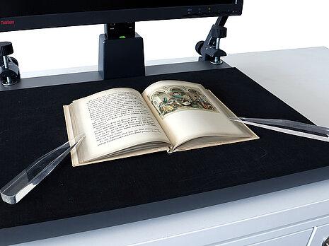 Digitalisieren ohne Glasplatte