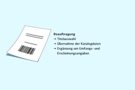 Elektronischer Semesterapparat: Beauftragung