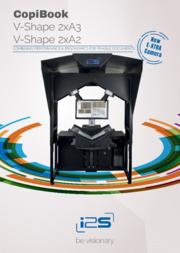 Produktblatt Copibook V-Shape (englisch)