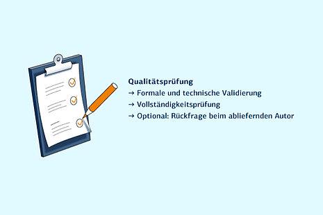Publikationsserver: Qualitätsprüfung
