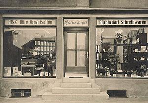 Erstes Ladengeschäft Walter Nagel 1939