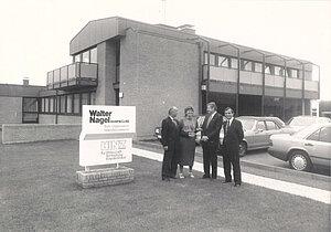 Historische Aufnahme Firmengebäude Potsdamer Straße