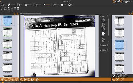 Bild 1 von 2- Schief gescannte Vorlagen werden automatisch gerade gerückt