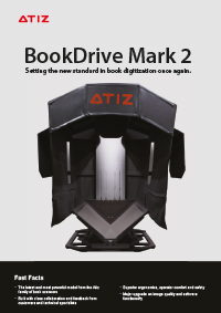 Broschüre vom BookDrive MarkII