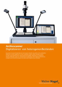 Broschüre der Archivscanner