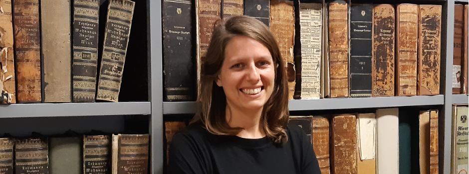 Vortragende Alexandra Egger - Wienbibliothek